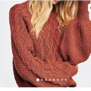 Free people parfait pullover sweater